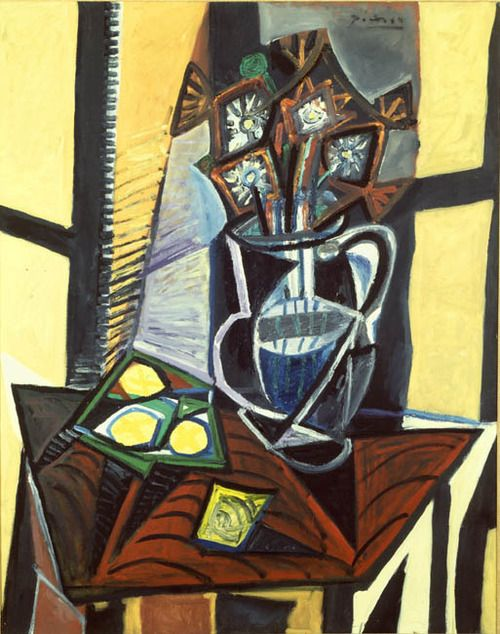 Pablo Picasso  Still Life with Flowers and Lemons  1941