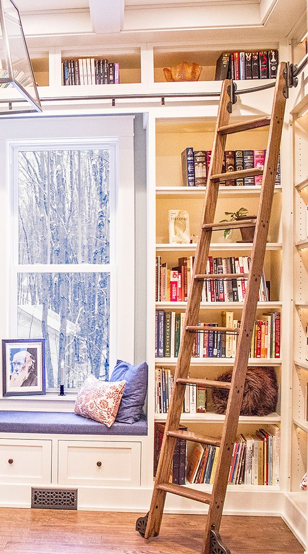 200 Rolling Library Ladders Ideas Library Ladder Home Ladder