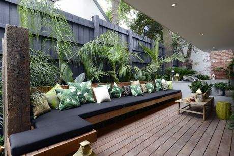 ea and Darren's outdoor terrace from The Block Triple Threat.