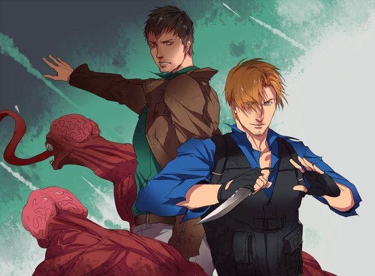 [Resident Evil: Damnation]Leon/Buddy by eilinna.deviantart.com on @DeviantArt