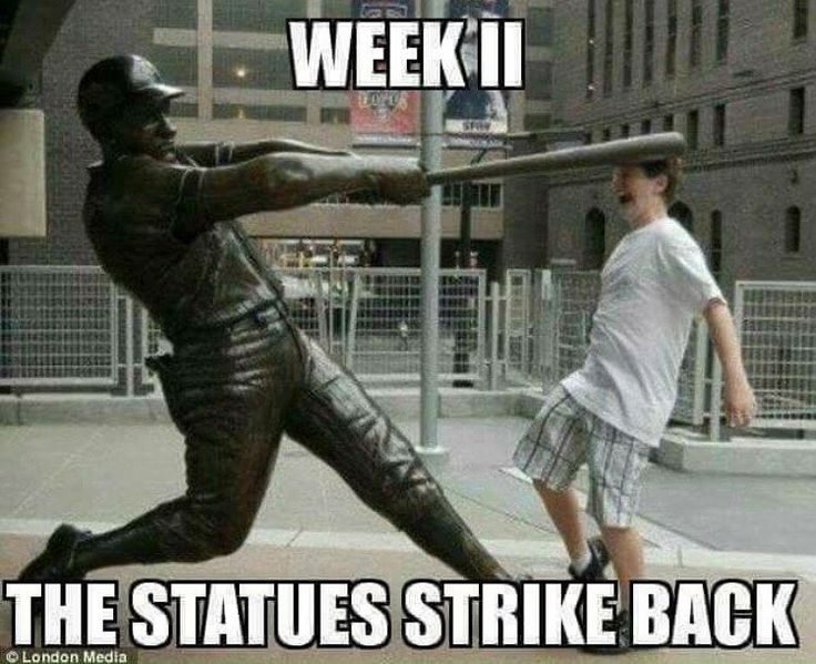 """748 Likes, 4 Comments - Conservative Meme Page (@too_savage_for_democrats) on Instagram: """" next ANFITA fag tries to f with a statue it's gonna start swinging!…"""""""