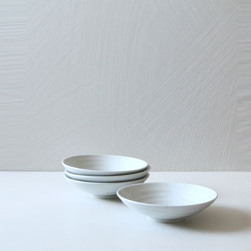 Casual line Round bowl 17, set of 4 / $40.00
