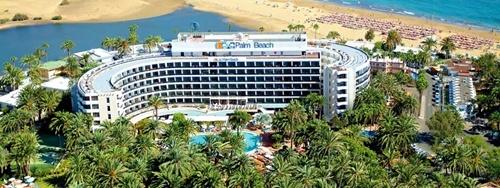 Hoteles para niños de las Islas Canarias:  Seaside Hotel Palm Beach, Maspalomas. Viajacontuhijo, especialistas en viajes monoparentales