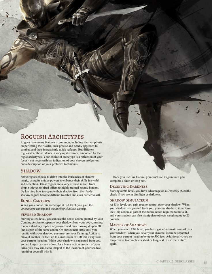dragon archetype Roguish archetypes rogues in the forgotten realms have the following roguish archetype options, in addition to those in the player's handbook mastermind.