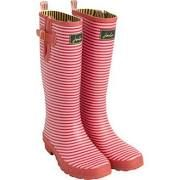 Joules Wellington Red Stripe Wellies Uk 3