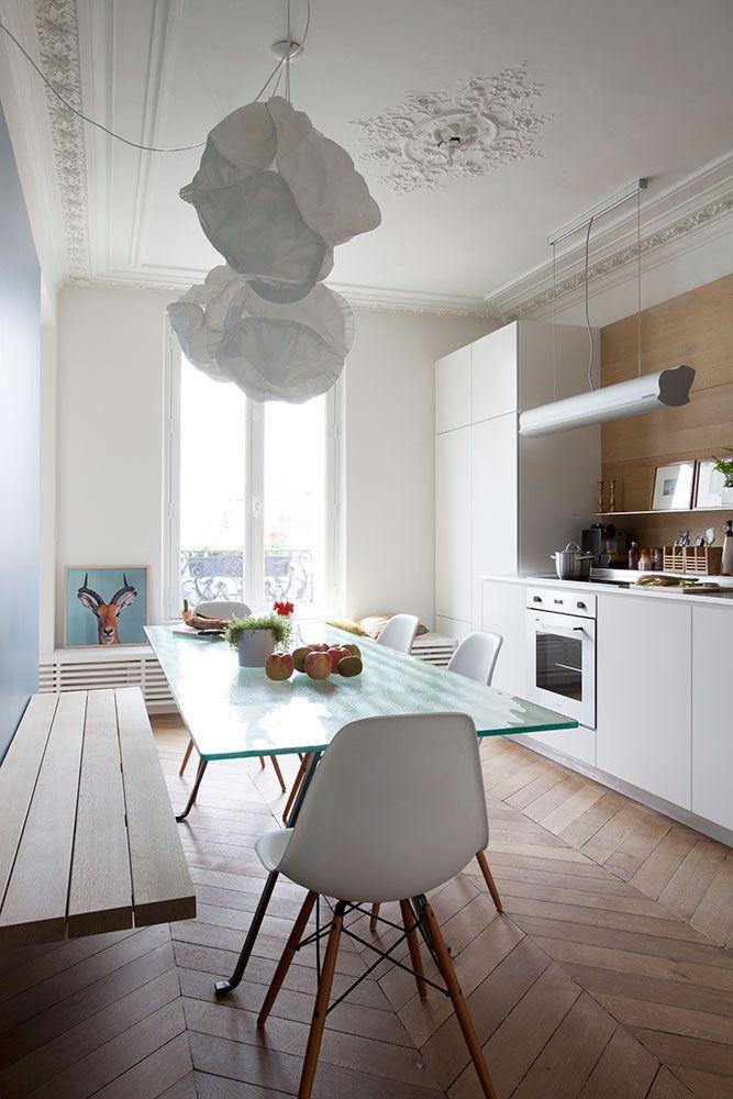 On aime ! Intérieur / Design / Home / Love / Architecture / Création / Originale / Maison / Paris www.shoji.fr