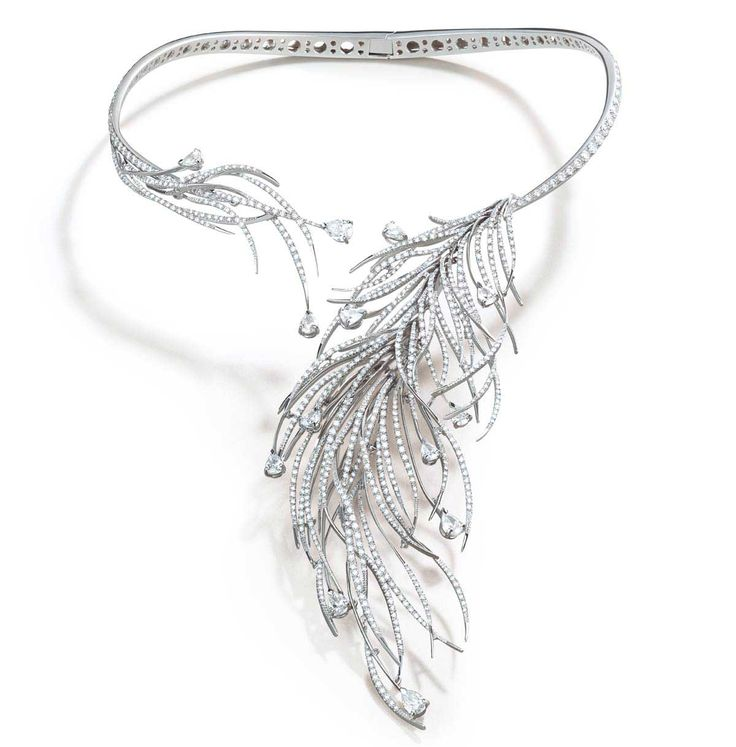 Italian jewelry company, Damiani has made a necklace commemorating each decade of the history of their house. Charleston was made to reflect the 1920s.