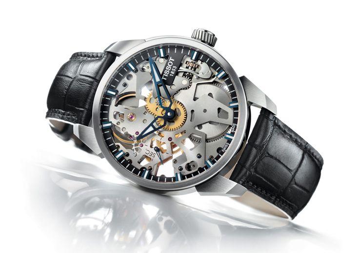 Tissot T-Complication Squelette: une montre qui bouscule les règles - Tissot dévoile les rouages de son expertise horlogère