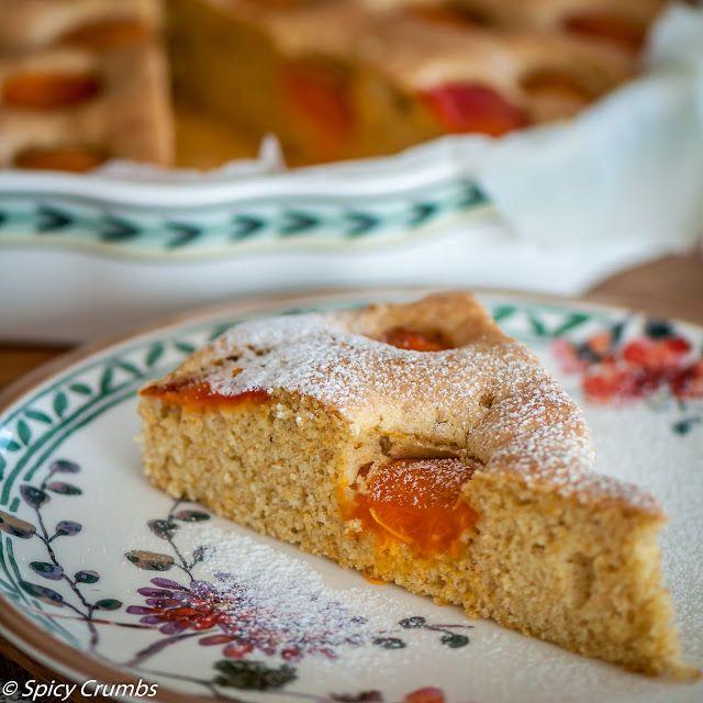 Spicy crumbs: Meruňková bublanina