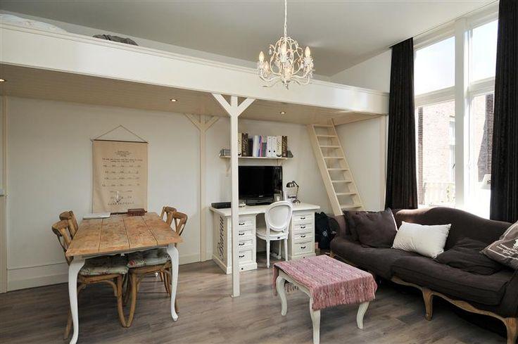 Ook van een kleine studio met een woonoppervlakte van ca. 22 m2 kun je een sfeervolle woning realiseren