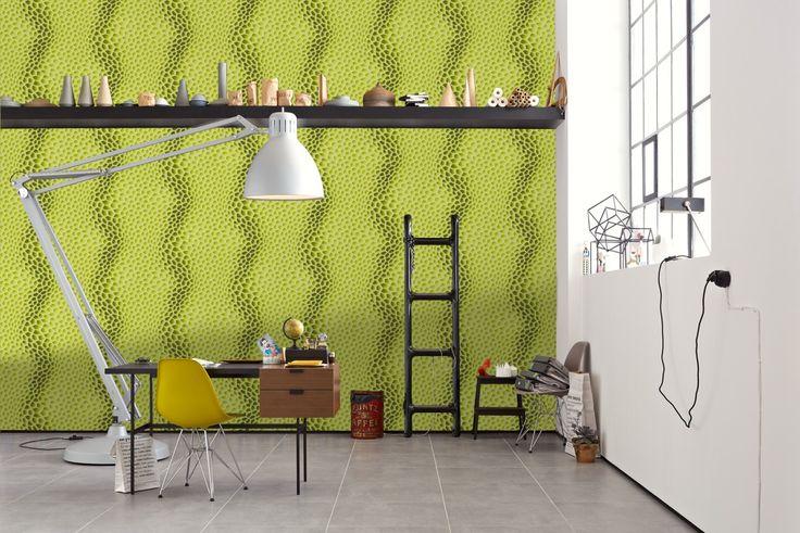 """""""Harmony in Motion"""" vom polnischen Designer Mac Stopa; Livingwalls Tapete 327091"""