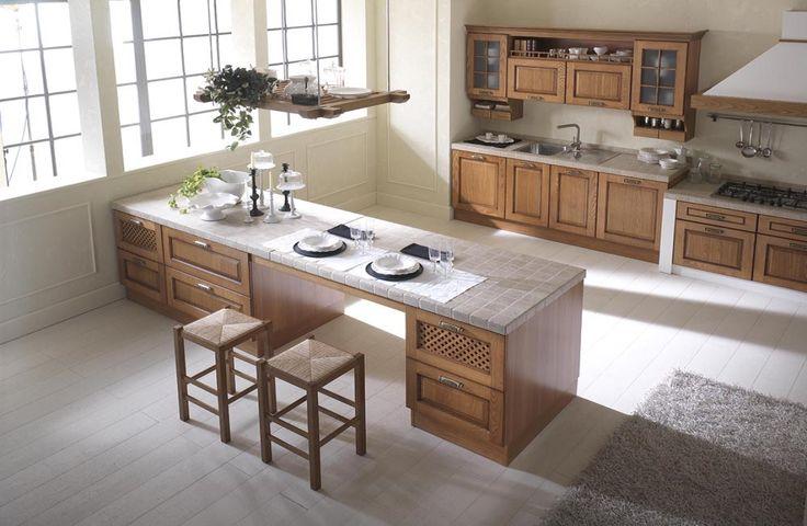 Cucinesse: #cucina classica ELENA - Il piacere della tradizione. #arredamento #design #interiordesign #tradizionale #elegante #semplicità #gradevole #accogliente