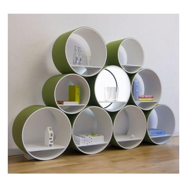 FlexiTube: Lavish Shelving Strategy By Doris Kisskalt - Hometone ❤ liked on Polyvore