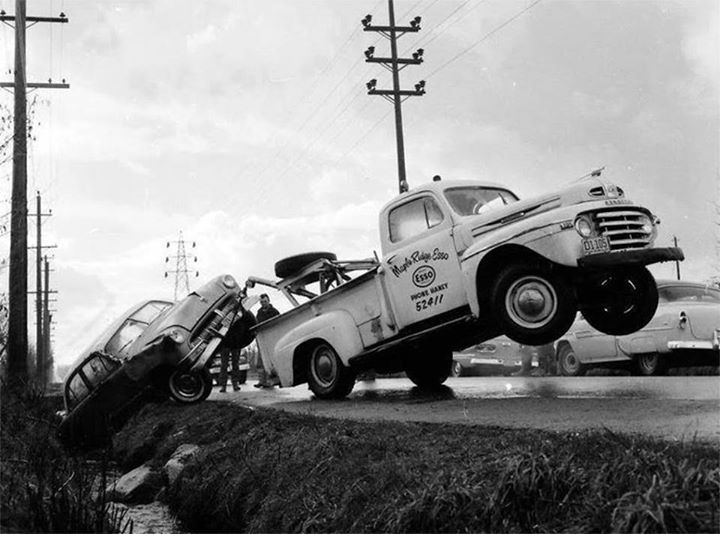 Way Brothers Ford >> 73 best images about Antique Wreckers on Pinterest | Chevy, Tow truck and Trucks