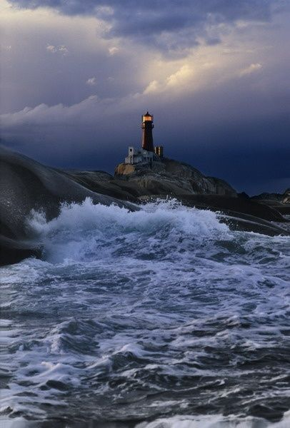 Svenner Lighthouse is a coastal lighthouse in the municipality of Larvik in Vestfold, Norway. Svenner lighthouse is the outer edge of an idyllic archipelago and is one of the most popular places for boat-owners. The lighthouse rents out 19 beds and was first lit in 1874.