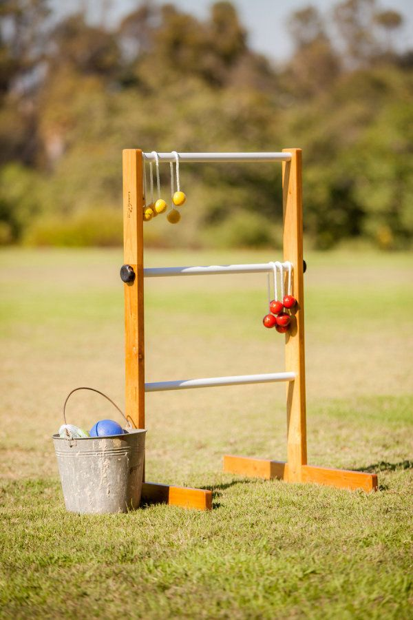 Yard games :)  Ladders (aka redneck horseshoes) is a family favorite of ours!