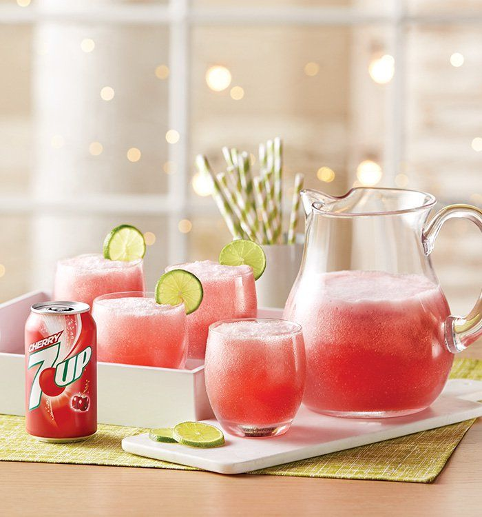 7UP Berry Cherry Punch