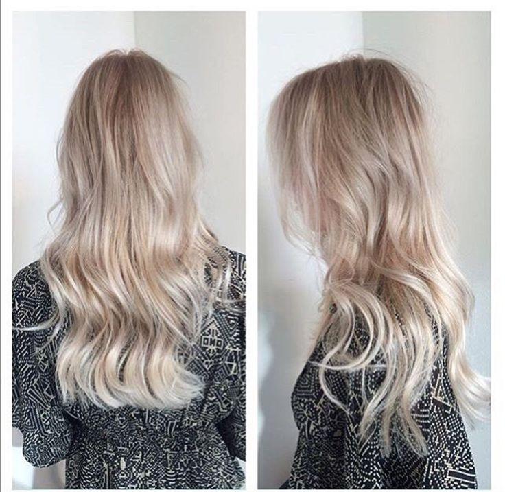 Pearl blonde hair by Nienke @ Salon B, Almere