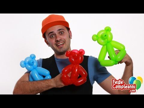 Palloncini Decorazioni - Il Cigno - Tutorial 33 - Feste Compleanni - YouTube