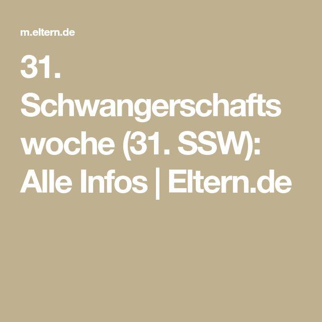 31. Schwangerschaftswoche (31. SSW): Alle Infos | Eltern.de