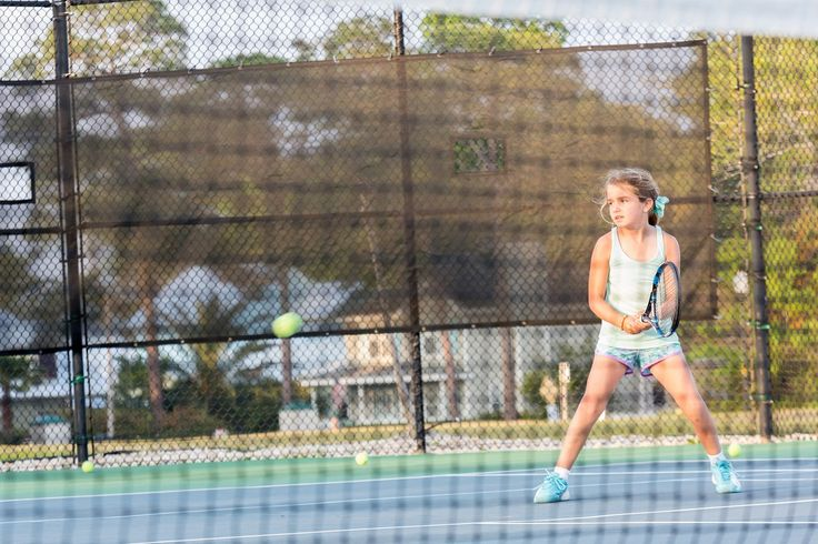 Junior tennis players are hitting the courts of the Orange Beach Tennis Center for the Polar Bear Classic.