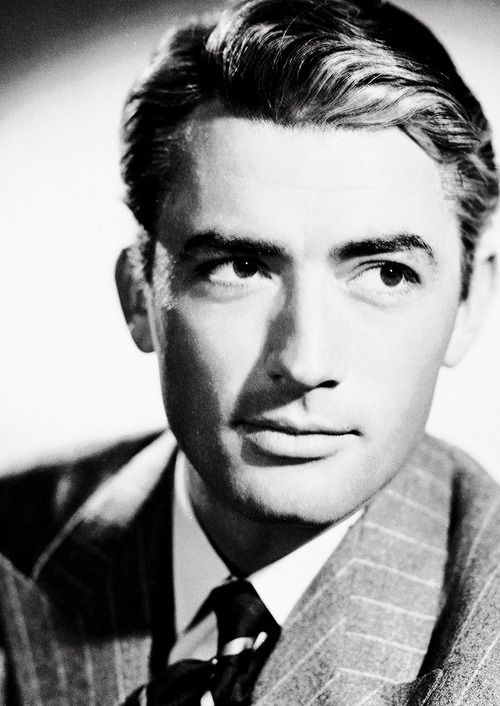 "Gregory Peck [publicity still for Hitchcock's ""The Paradine Case""]"