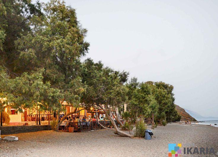 Faros beach in Ikaria island, Greece