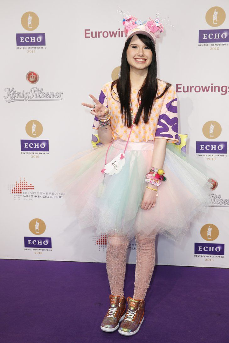 Pin for Later: Seht alle Outfits der Stars beim Echo Jamie-Lee Kriewitz