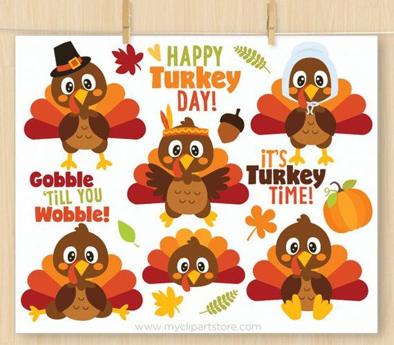 10+ Thanksgiving Day Clipart Images