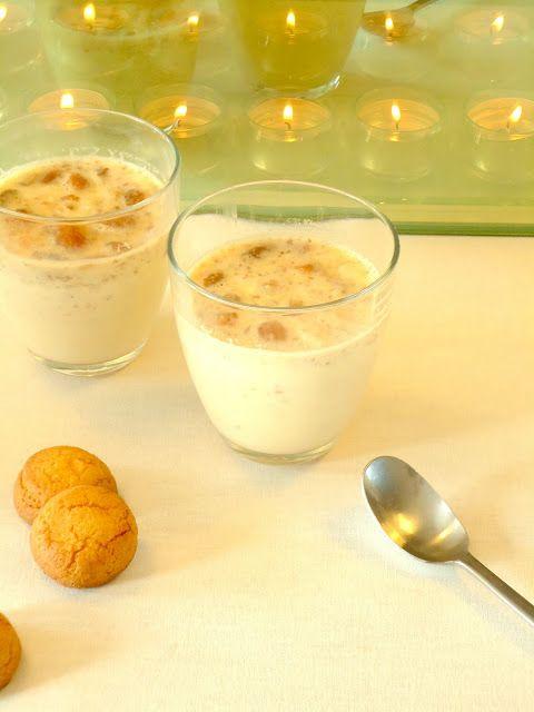 Een lekker recept voor bitterkoekjespudding, lekker nagerecht voor kerst.