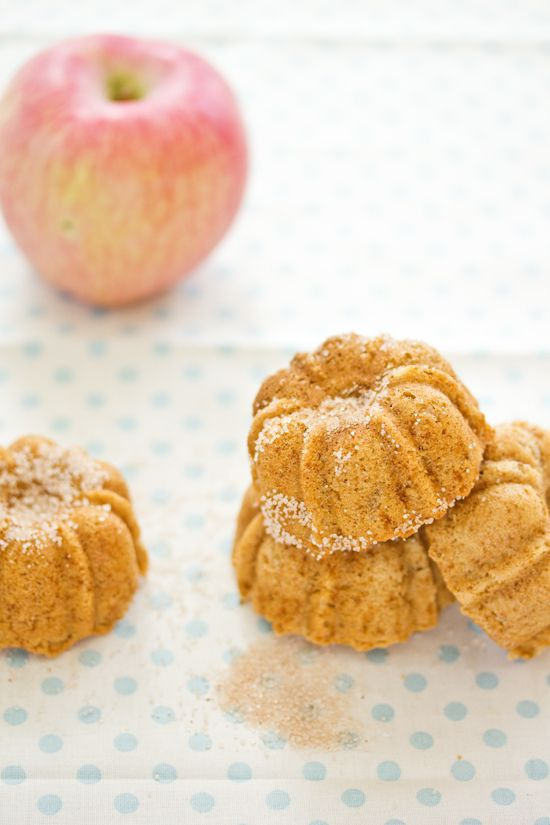 Sips and Spoonfuls: Mini Apple and Cinnamon Bundt Cakes