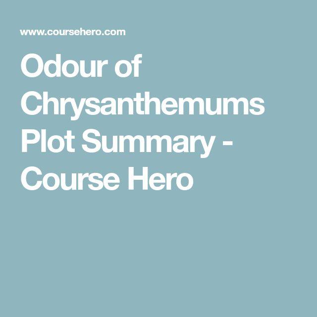 the chrysanthemums summary