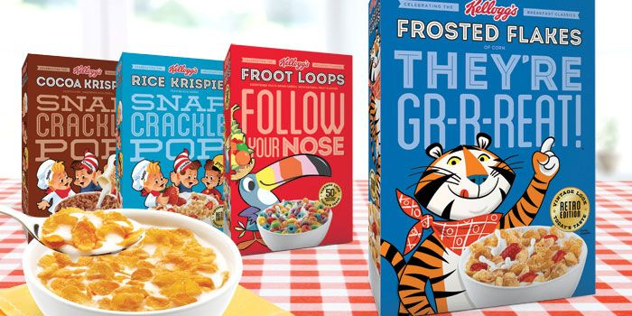 Kellogg's retro editions