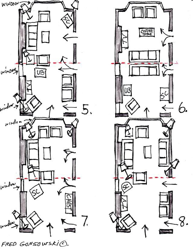Floorplan Options 2 For Long Narrow Living Room