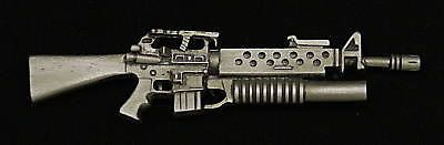 M16 w/ M203 Grenade Launcher Pewter Gun Pin  by OnTargetJewelry, $18.99
