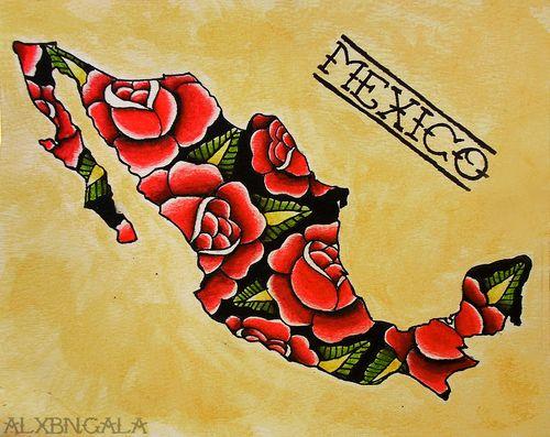 mexican tattoo flash | Tumblr