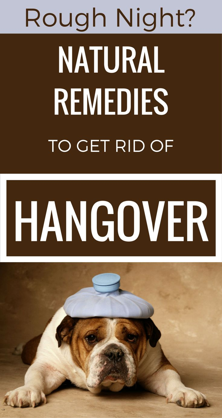 Rough Night? Natural Remedies To Get Rid Of Hangover