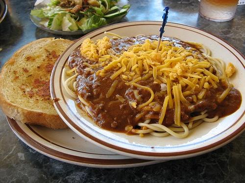 Bob S Big Boy Spaghetti And Chilli Food Pinterest