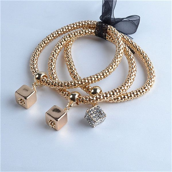 Multilayer Bracelets Starfish/Love Charm Bracelets Girls Valentines Day Gifts