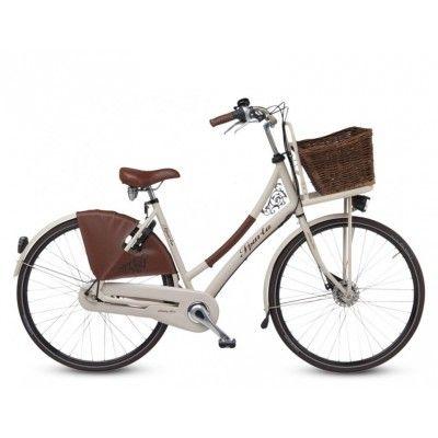Rower Miejski Damski Sparta Country Tour. Dopracowany w każdym szczególe stylowy, efektowny i funkcjonalny rower miejski. http://damelo.pl/damskie-rowery-miejskie-stylowe/756-rower-miejski-damski-sparta-country-tour.html