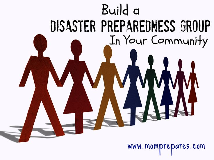 It's time to step up and take a role in preparing your community for a crisis! Original Image by spekulator
