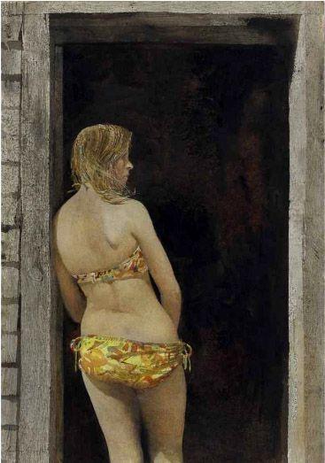 Andrew Wyeth - Bikini - 1968