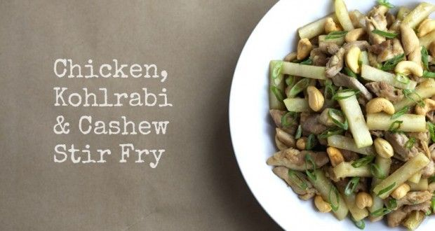 Chicken (use Chick'n), Kohlrabi and Cashew Stir Fry by Produce Made ...