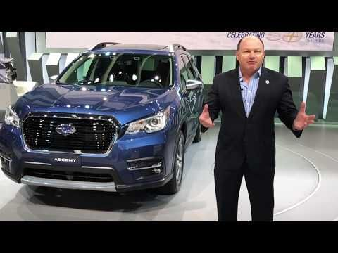 2019 Subaru Ascent is the new 8-Seater SUV (Video) - SUV Trend
