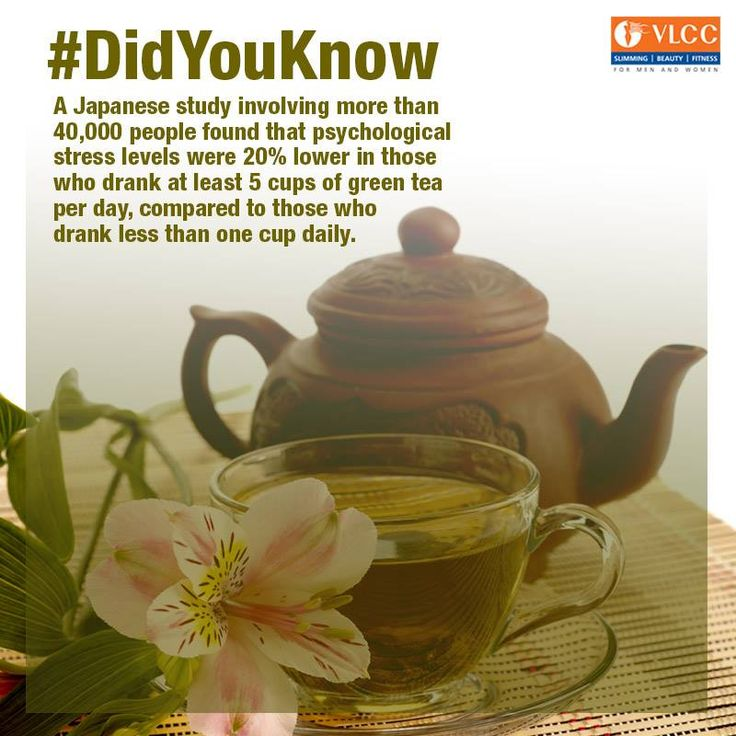 #DidYouKnow?  How many cups of green tea do you drink in a day?