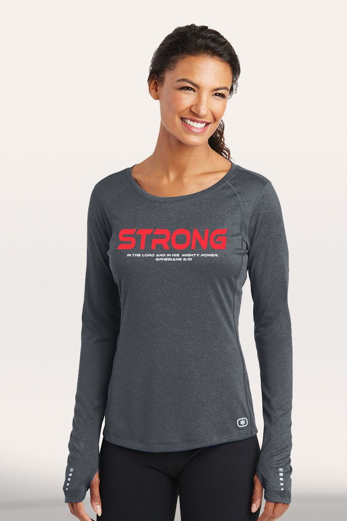 Strong Women's Active Long Sleeve