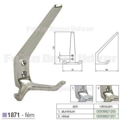 Fogas akasztó 1871-AL1-14 Alumínium