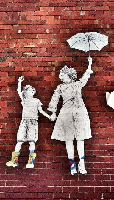 Mom and son - up in the sky - in Melbourne