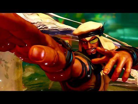 УЛИЧНЫЙ БОЕЦ - РАШИД   Игра Street Fighter 5 trailer HD (Rashid)   Трейлер бойца - YouTube