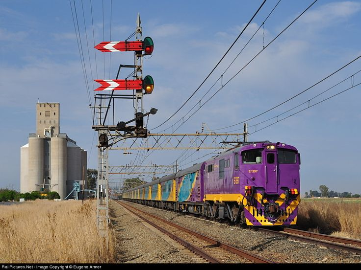 RailPictures.Net Photo: E1397 Transnet Freight Rail Class 6E1 at Rooiwal, Free State province, South Africa by Eugene Armer
